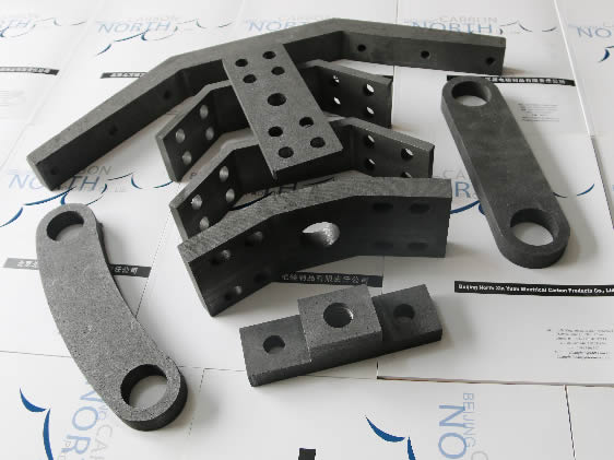 Graphite Joint Parts for Industrial Furnace